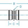 "1/4"" Hose ID Hose Mender Standard Hydraulic Fitting"