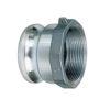 "1 1/2"" Aluminum Male Adapter x Female NPT Quick Coupling (Part A)"