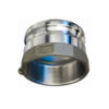 """1 1/2"""" Stainless Steel Male Adapter x Female NPT Quick Coupling  (Part A)"""