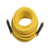 "3/8"" x 50 ft Pressure Washer Hose 4,000 PSI - Yellow"