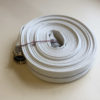 "1-1/2"" x 25 ft Synthetic Single Jacket Mill Hose 150 PSI Male x Female Short Shank Aluminum"