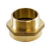 "1 1/2"" Female IPT x 1 1/2"" Male NST (Brass)"