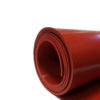 "1/32"" x 36 x 35' - Red FDA Silicone Rubber Sheet Roll"